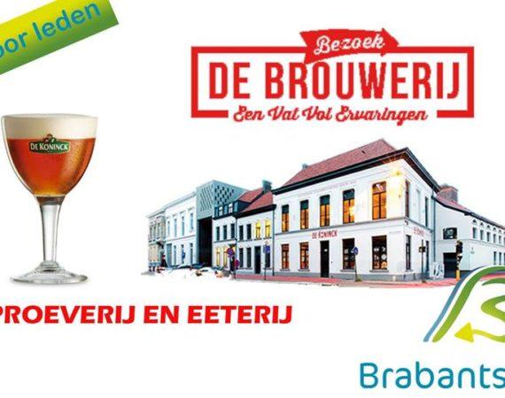 Bezoek brouwer de Koninck, 16 november 2017